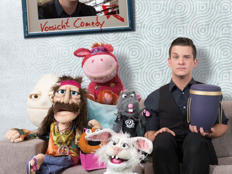 Comedy Show von Bauchredner Tim Becker